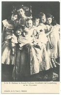 Luxembourg - Famille Grand Ducale - Madame La Grande Duchesse Et Les Princesses - Familia Real