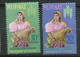 ** Philippines  PA64/65   Contre La Faim - Against Starve