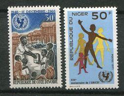 **   Niger - Cote D' Ivoire    Contre La Faim - Against Starve