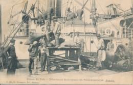 Antwerpen - Dokwerkers Lossen Een Schip - Uitgever G. Hermans - Antwerpen