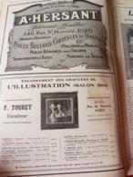 1914 Publicités : A. HERSANT Joaillier, Meubles GOUFFÉ ,L'URODONAL; VERNET-les-BAINS; L'école Moderne De GRENELLE; Etc - Publicités