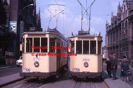 Reproduction D'unePhotographie De Tramway Ligne 3 GentBrugge Et Mariakerke à Gand En Belgique En 1964 - Reproductions