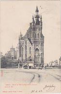 Gent - Gemeentehuis Sint-Amandsberg (gelopen Kaart Met Zegel) (Sugg Serie 1 No 180) - Gent