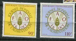 ** Rep Centrafricaine N° 66/67  Contre La Faim - Against Starve