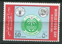 ** Oman  N° 52  Contre La Faim - Against Starve
