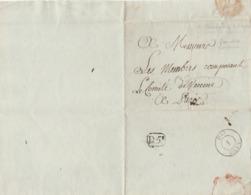 France Marque Postale  An 13 Floreal De Beaumont Le Roger - Documents Historiques