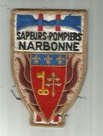 NARBONNE   ECUSSON Pompiers - Patches