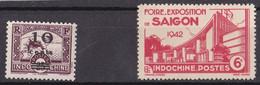 ⭐ Indochine - YT N° 229 ** Et N° 231 ** - Neuf Sans Charnière - 1941 / 1942 ⭐ - Ungebraucht