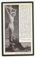 Décès Henri Joseph Marie DE CORDES Juge De Paix Canton Enghien  Décédé Enghien 1925 - Images Religieuses