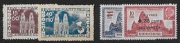 ⭐ Indochine - YT N° 292 Et 293 ** Avec N° 294 Et 295 ** - Neuf Sans Charnière - 1944 ⭐ - Unused Stamps