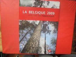 2009 TIMBRES+LE LIVRE DE L'ANNEE COMPLET (800 Grammes) - Belgium