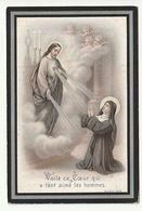 Décès Eugénie Hubertine Ghislaine CHOPPINET Enghien 1823 - 1904 - Images Religieuses