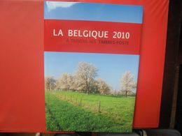 2010 TIMBRES+LE LIVRE DE L'ANNEE COMPLET (800 Grammes) - Belgium