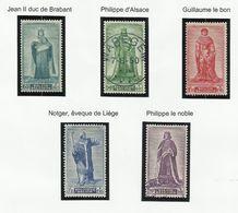 Belgique N° 751 à 755 De 1947 - Belgium