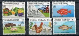 ** Trinité Et Tobago   N° 439 à 444  Contre La Faim - Against Starve