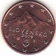 Slovakia, 1 Cent 2019 UNC - Slovaquie