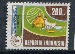 ** Indonésie N° 925  Contre La Faim - Against Starve