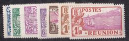⭐ Réunion - YT N°109 à 116 ** Sans Le 114 - Neuf Sans Charnière - 1928 / 1930 ⭐ - Ungebraucht