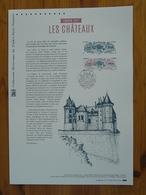 Document Officiel FDC 17-570 Chateau D'Azay Le Rideau 37 Indre Et Loire Castle Europa 2017 - 2017