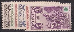 ⭐ Réunion - YT N° 180 à 185 ** - Neuf Sans Charnière - 1943 ⭐ - Ungebraucht