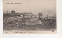 CPA   RETHEL CAMP ALLMAND LES FOURS DE CAMPAGNE - Rethel