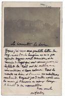 CPA RARE CARTE PHOTO ECOLE SERINNETTE SERINETTE TOULON SUR MER CACHET 1909 - Toulon