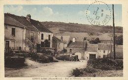 COIFFY Le BAS (Haute Marne) Rue De L'Ormeau Le Café RV - Frankrijk