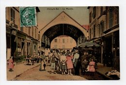- CPA CHOISY-LE-ROI (94) - Le Marché 1908 (belle Animation) - - Choisy Le Roi