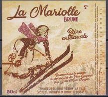 Etiquette (label) De Biere Française  ( Beer, Cerveza, Birra, Bier);Brasserie Du HAUT VENCON (38) - Bière