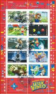 91 Héros Des Jeux Vidéo 2005 - Oblitérés