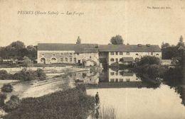 PESMES (Haute Saone ) Les Forges RV Beau Cachet Chaumercenne Hte Saone - France