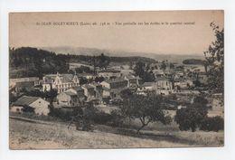 - CPA SAINT-JEAN-SOLEYMIEUX (42) - Vue Partielle Sur Les écoles Et Le Quartier Central - Edition Vial - - Saint Jean Soleymieux
