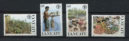 ** Vanuatu  N° 814 à 817 Contre La Faim - Against Starve