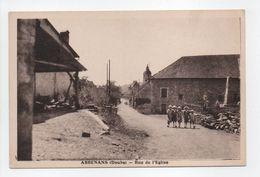 - CPA ABBENANS (25) - Rue De L'Eglise (avec Personnages) - Editions C. L. B. - - Autres Communes
