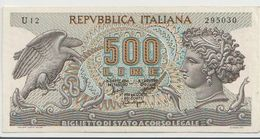 ITALY  P. 93a 500 L 1966 XF - 500 Lire