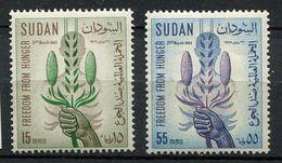 * Soudan  N°  158/159   Contre La Faim - Against Starve