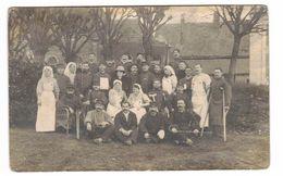 GROUPE SOLDATS BLESSES ECRIS 24 DECEMBRE 1914 DE LAVAL - Guerre 1914-18