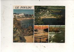 Clohars-Carnoët (29) : 4 Vues Dont Vue Aérienne Au Niveau Du Hameau De Le Pouldu En 1984 GF. - Clohars-Carnoët