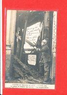 SAPEUR POMPIER Cpa Animée Incendir Théatre De LILLE Le 6 Avril 1903 Sergent Gillin - Feuerwehr