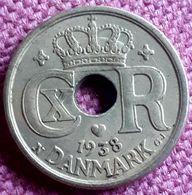 DENEMARKEN :  10 ORE 1938 KM 822.2 XF - Danimarca