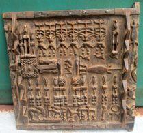 Dogon Deur Van Honingzolder Uit Mali - Porte De Grenier De Miel Des Dogon Du Mali - Art Africain