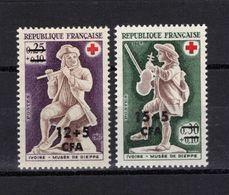 REUNION  Timbres Neufs ** De 1967  ( Ref 1725 D ) Croix-rouge - Unused Stamps