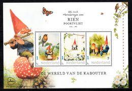 Nederland 2020, Persoonlijke Zegels: 25 Jaar Rien Poortvliet,wereld Van De Kabouter, Gnome, Bird, Butterfly, Mushroom - Neufs