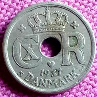 DENEMARKEN :  10 ORE 1937 KM 822.2 XF - Danimarca