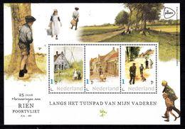 Nederland 2020, Persoonlijke Zegels: 25 Jaar Rien Poortvliet,tuinpad Van Mijn Vader, Farm, Pig, Dog Childeren - Neufs