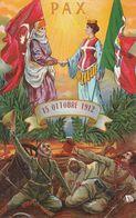 GUERRA DI LIBIA 15 OTTOBRE 1912 PAX VIAGGIATA ANNO 1912 FORMATO PICCOLO - Altre Guerre