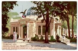 Torino Italie CPA 1911 Esposizione Internazionale Fernet Branca  état Superbe - Exhibitions