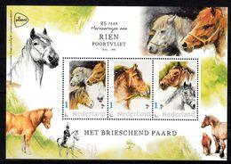 Nederland 2020, Persoonlijke Zegels: 25 Jaar Rien Poortvliet, Het Brieschend Paard, Horse, - Neufs