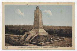 ARGONNE - LE MONUMENT AUX MORTS - LA HAUTE CHEVAUCHEE - CPA COULEUR NON VOYAGEE - Other Municipalities