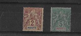 Mayotte N° 2 Et 4** - Mayotte (1892-2011)